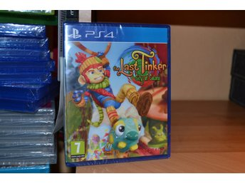 The Last Tinker - City of Colors Playstation 4 PS4 Nytt Inpl