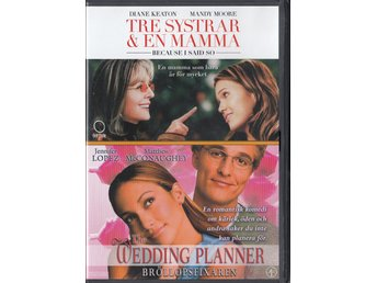 Because I Said So & The Wedding Planner 2-Disc DVD