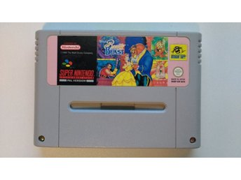 Super Nintendo/SNES: Beauty and the Beast (SCN)