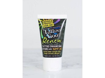Tattoo Goo - Renew, Tattoo Enhancing Lotion with SPF