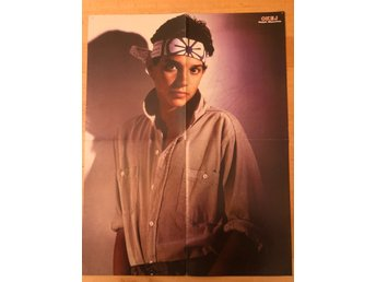 Okej-poster Ralph Macchio Karate Kid / Eurythmics