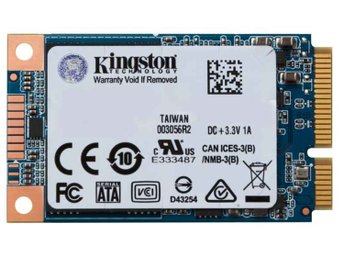 Kingston UV500 SSD 480 GB mSATA seriell ATA III SUV500MS/480G