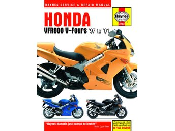Haynes manual Honda VFR 800 V - Fours, 97-01
