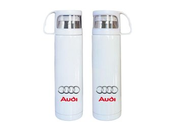 Audi rostfritt stål termos, Audi kaffetermos med mugg, Audi present - Karlskrona - Audi rostfritt stål termos, Audi kaffetermos med mugg, Audi present - Karlskrona