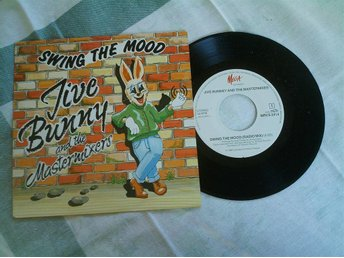 SWING THE MOOD MED JIVE BUNNY AND THE MASTERMIXERS.