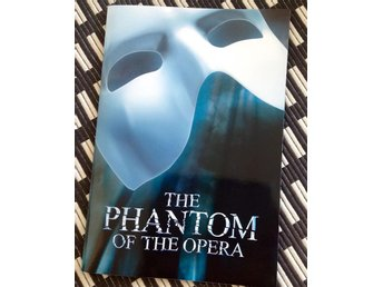 SIGNED Phantom of the opera program CIRKUS 2016