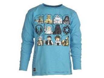 T-SHIRT, STAR WARS GUBBAR, TURKOS-140