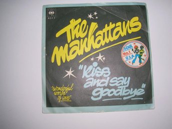 MANHATTANS Kiss And Say Goodbye/Wonderful World Of Love