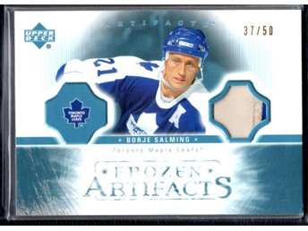 2005-06 Artifacts Frozen Artifacts Patches, Borje Salming, #FP-BS, 37/50 - Jönköping - 2005-06 Artifacts Frozen Artifacts Patches, Borje Salming, #FP-BS, 37/50 - Jönköping