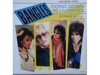 "Bangles title* Going Down To Liverpool Label:CBS, CBSA 12.4914 Format:12""-maxi"