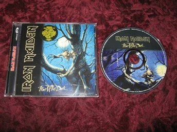 IRON MAIDEN FEAR OF THE DARK CD