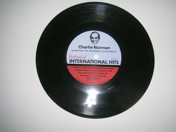 Plastskiva CHARLIE NORMAN Festival Of International Hits