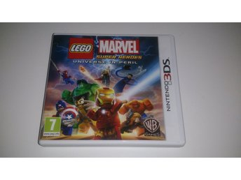 - Lego Marvel Super Heroes Universe in Peril N3DS -
