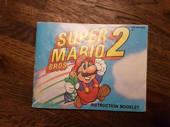 Super Mario Bros 2 - SCN | Endast manual
