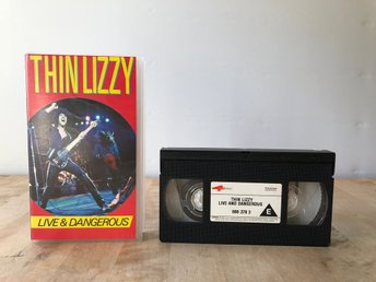 Thin Lizzy - Live & Dangerous - VHS