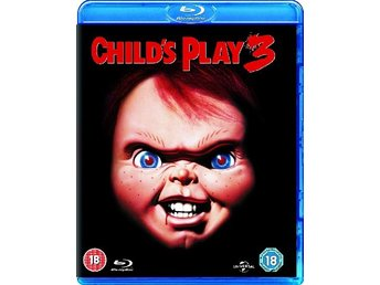 Den onda dockan 3 - Child's Play 3 . Chucky - Svensk text - Inplastad Blu-ray