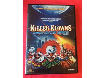 KILLER KLOWNS FROM OUTER SPACE (Svensk version)