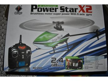 Radiostyrd helikopter Power starX2