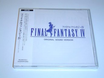 Final Fantasy 4 Original Soundtrack Musik *NYTT*