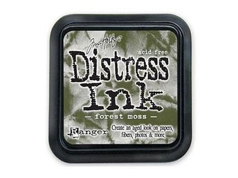 Stämpeldyna Distress ink -forest moss-