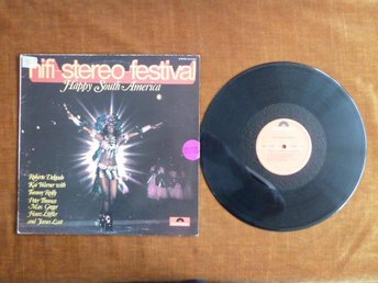 HIFI STEREO FESTIVAL, HAPPY SOUTH AMERICA,  LP, LP-SKIVA