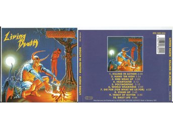 LIVING DEATH Killing In Action (CD 1991) - Moscow - LIVING DEATH Killing In Action (CD 1991) - Moscow