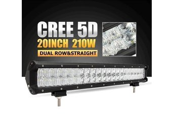 210W LED RAMP 5D CREE XTE  COMBO 17600LM