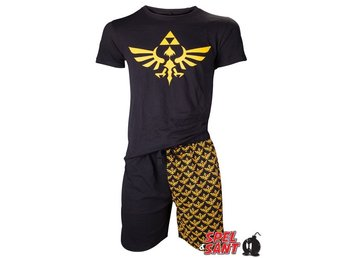 Nintendo Zelda Skyward Sword Pyjamas Sett Svart (Small)