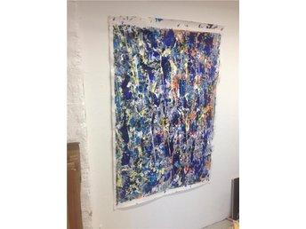 abstrakt konst akryl papper - Göteborg - abstrakt konst akryl papper - Göteborg