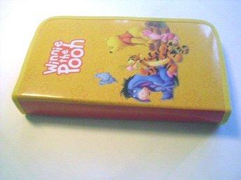 Förvarings väska m plats för 72 cd/dvd disk Nalle Puh Disney - Motala - Förvarings väska m plats för 72 cd/dvd disk Nalle Puh Disney - Motala