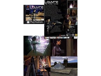 LOUVRE - the final curse / PLAYSTATION / PS1 / PS2 /  NYTT