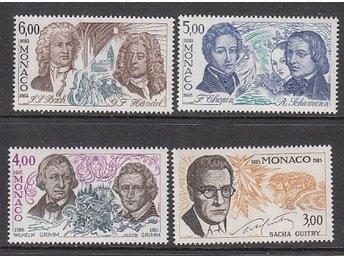 Monaco 1985. Mi. nr: 1723-26 ** - Njurunda - Monaco 1985. Mi. nr: 1723-26 ** - Njurunda