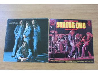 LP. Vinyl. Status Quo. Blue for you & Down the dustpipe