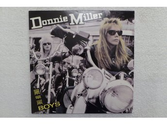 DONNIE MILLER - LP - ONE OF THE BOYS - ROCK 1989!!!