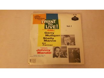 "Gerry Mulligan - The Jazz Combo From ""I Want To Live!"" (Vol. 1) (Endast Omslag)"