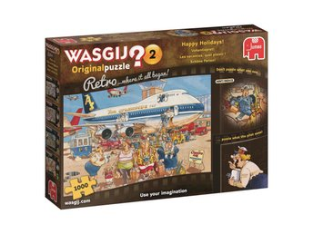 Wasgij Original 2  Happy Holidays Retro Pussel 1000 bitar 19