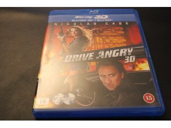 Bluray3D+Bluray-film: Drive Angry (Nicholas Cage)