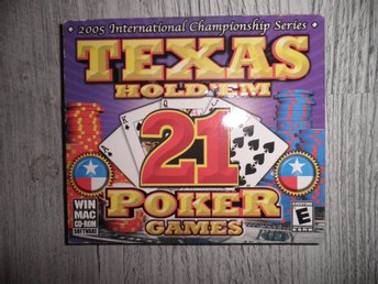 TEXAS HOLDÉM 21 POKER GAMES