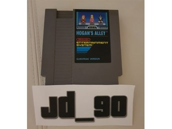 Hogans Alley / Hogan's Alley NES European Version PAL 5-skruvar