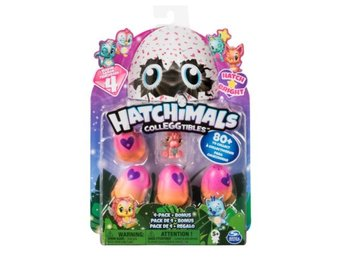 Hatchimals Colleggtibles Hatch Bright  4-Pack + Bonus Säsong 4
