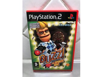Buzz the sports quiz ( svenskt tal ) PS2