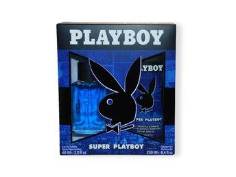 Giftset Playboy Super Playboy Edt 60ml + SG 250ml