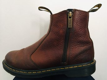 Superfina bruna Dr Martens 2976 Zip