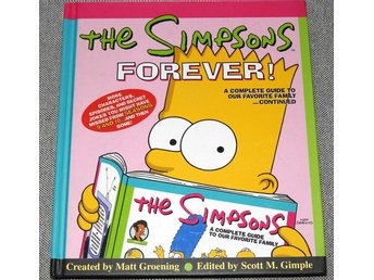 The Simpsons Forever! Inbunden bok