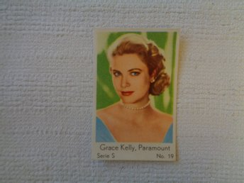 Nr 19 Grace Kelly- Serie S 1957- Stor text