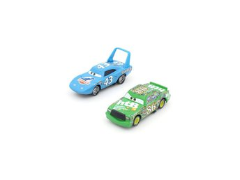 Disney Cars Bilar Pixar The King Kungen 43 & Chick Hicks 86