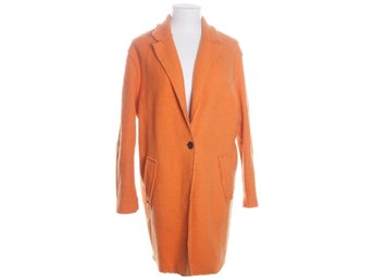 Zara Basic, Kappa, Strl: XS, Orange, Ull/Polyester