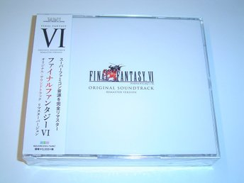 Final Fantasy 6 Original Remaster Version Soundtrack Musik *NYTT*