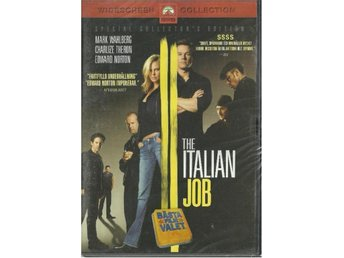 THE ITALIAN JOB -SPECIAL EDITION  ( INPLASTAT -SVENSK TEXT )