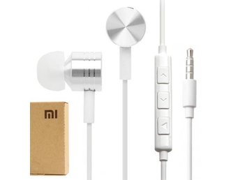 Xiaomi Piston Headset med Mic - Vit
